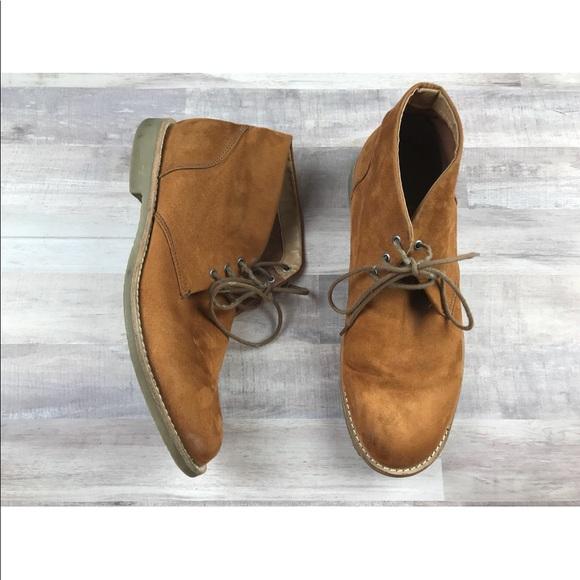 2bdfc075398 H M Other -  H M  Mens chukka dressy boots orange ...